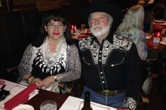 John and his wife, Rocio, at the Will Rogers Medallion Award banquet in Forth Worth in 2014.