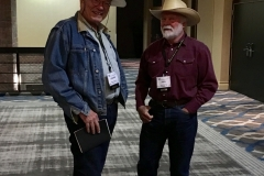 John with Edward Massey at the WWA convention in Billings in 2018.