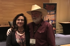 John and his wife, Rocio, at the WWA convention in Billings in 2018.