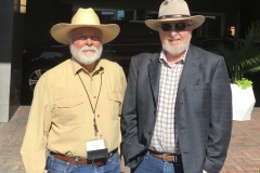 John and Robert D. McKee at the WWA Convention in 2018 in Billings, MT